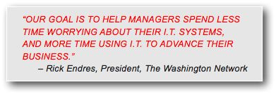 Rick Endres, TWN President, on the main benefit of Managed Services